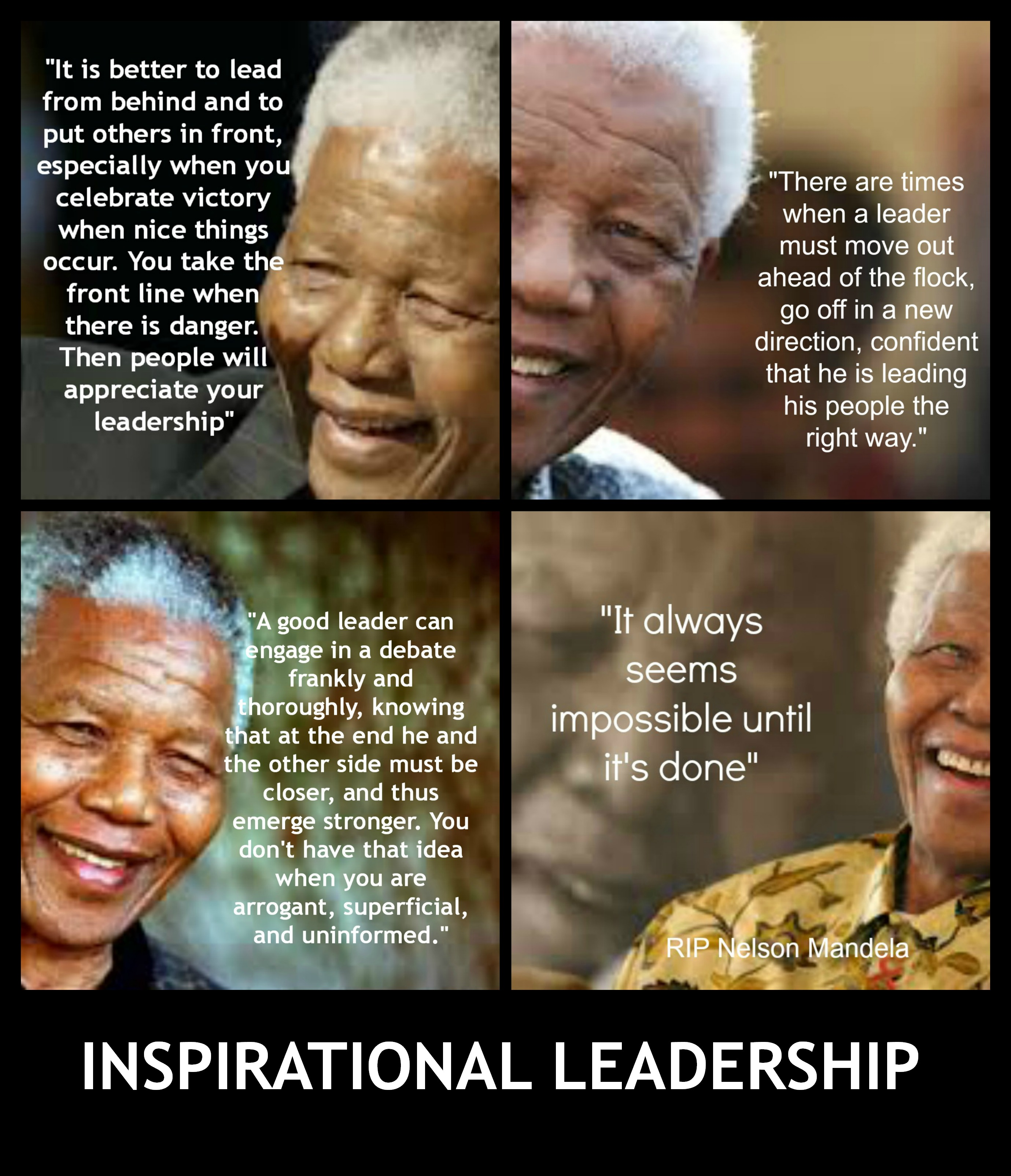 Motivational Quotes About Leadership: 4 Inspirational Leadership Quotes From A Legendary Leader